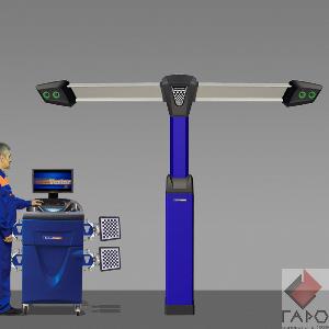 Стенд развал-схождение 3D с 4-мя камерами ТехноВектор 7 V7204 TP Premium
