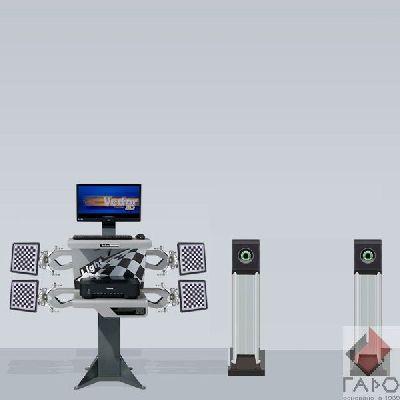 Стенд сход развал 3D ТехноВектор 7202 М1A Optima