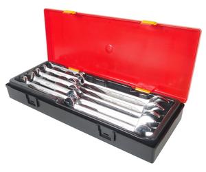 Набор ключей рожковых 6-24мм 10 предметов в кейсе JTC